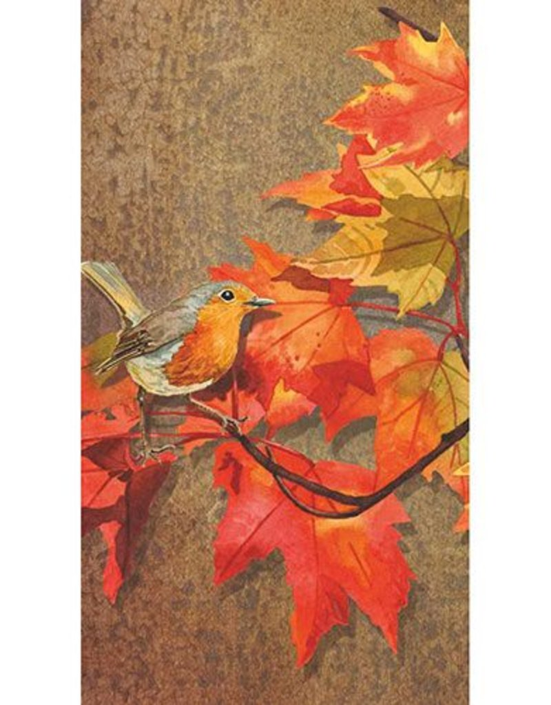 Paper Products Design Crimson Leaves, Guest