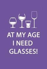 PPD Glasses Beverage Napkin
