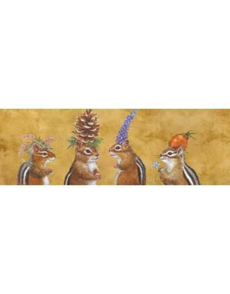Paper Products Design Chipmunk Social Long Matches