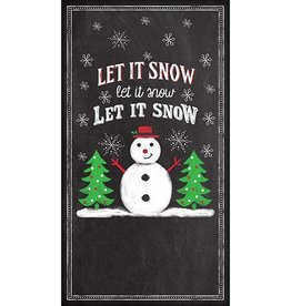 PPD Let It Snow, Guest Towel