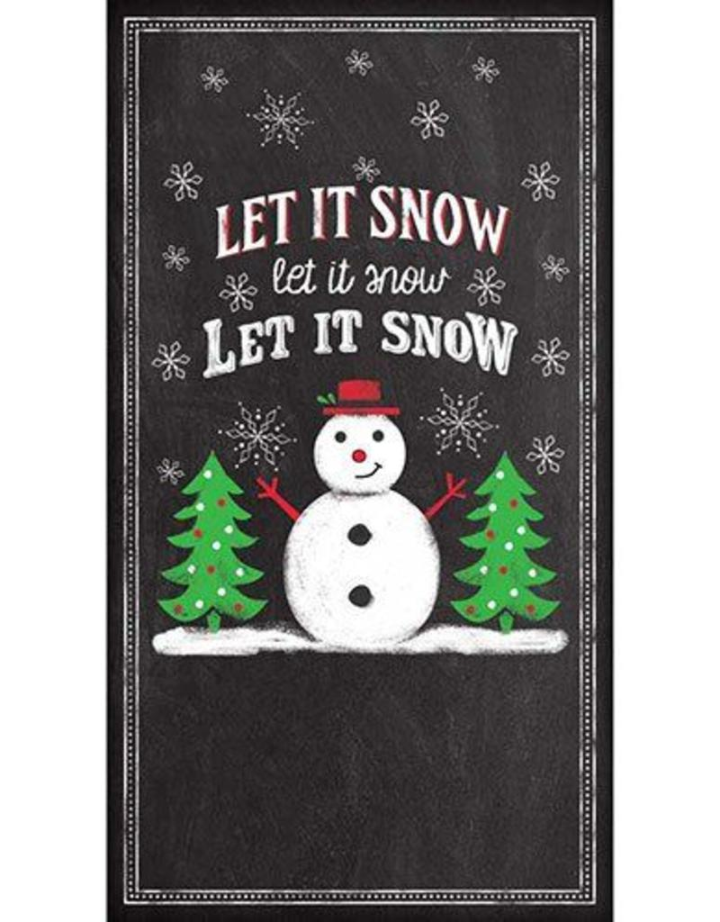 Paper Products Design Let It Snow, Guest Towel