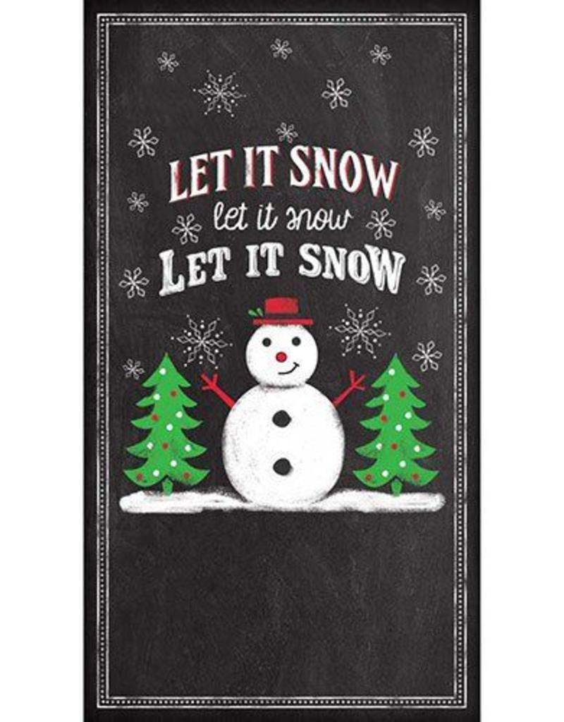 PPD Let It Snow, Guest Towel