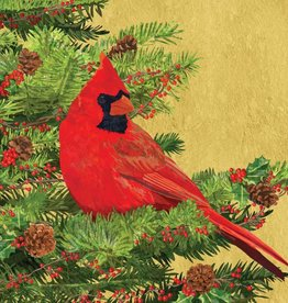 Paper Products Design Yuletide Cardinal, Beverage Napkin