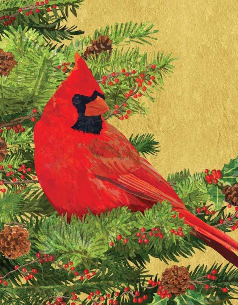 Paper Products Design Yuletide Cardinal, Beverage Napkin