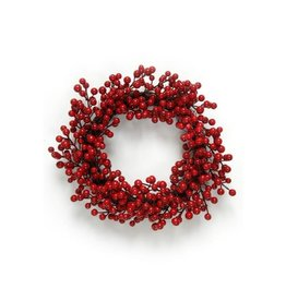The Pine Centre Berry Red Wreath