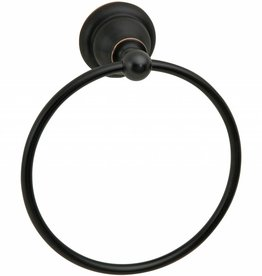 Taymor Crofton Towel Ring - Aged Bronze
