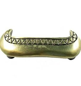 Sierra Lifestyles Canoe Pull - Antique Brass