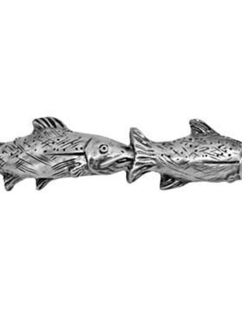 Sierra Lifestyles Fish Pair Pull - Pewter