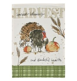 Park Design Harvest Turkey Printed Dish Towel