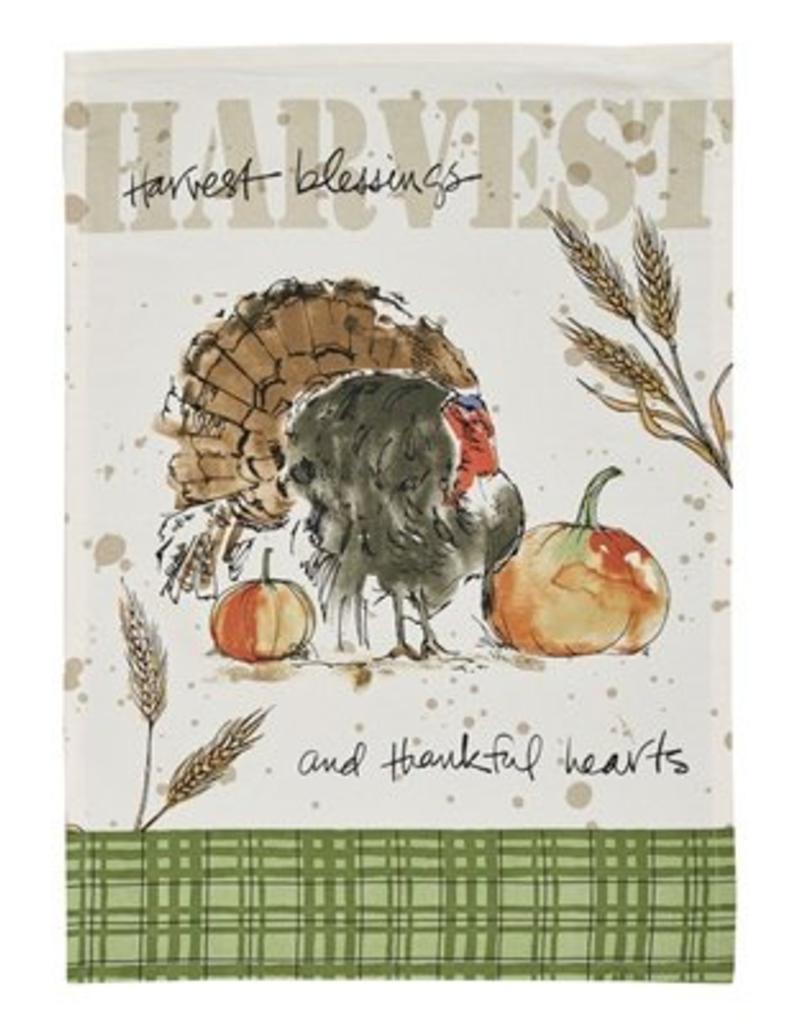 Park Design Harvest Turkey Printed Dish Towel