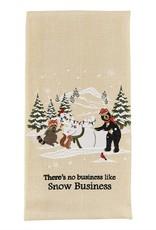Park Design Snow Business Dishtowel