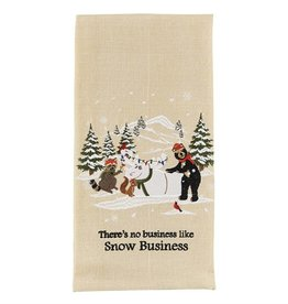 Park Design Snow Business Dish Towel