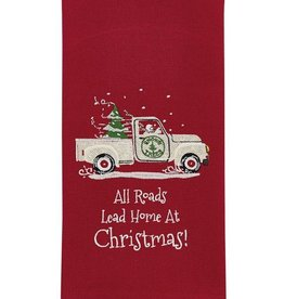 Park Design Home at Christmas Dish Towel