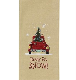 Park Design Ready Set Snow Dish Towel