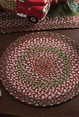 Park Design Holly Berry Braided Placemat