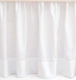 Pine Cone Hill Classic Hemstitch White Bed Skirt, King