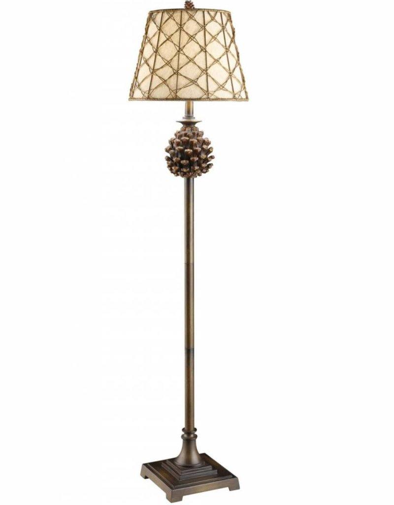 """Crestview Pine Floor Lamp, 61"""""""