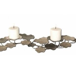 Uttermost Lying Lotus Candle Holder