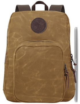 duluth pack Duluth Pack Backpack STD Laptop Wax Khaki B-163