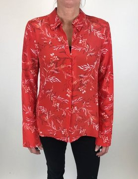 ECRU DESIGNS Ecru The Vesta Floral Red