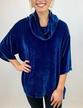 CUT LOOSE Cutloose Cowl Pull/Over Tide Blue