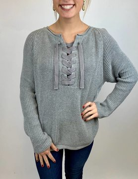 NEON BUDDHA Pure Knit Salutation Swtr Sporty Grey