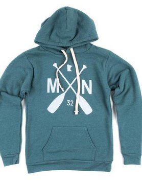 Sota Clothing Sota MN Valley Hoodie Teal/White