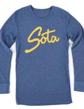 Sota Clothing Sota Sisu L/S Thermal Hthr Blue/Gold