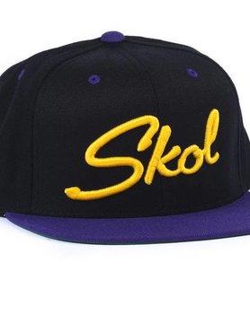 Sota Clothing Sota Flat Bill Skol Snapback Blk/Purple