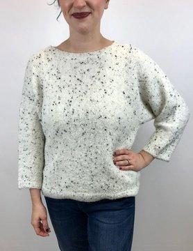 Lilla P Lilla P Fleck Sweater White