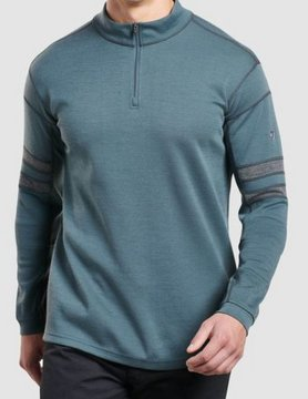 Kuhl Kuhl Team 1/4 Zip Pewter Green