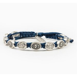 My Saint My Hero My Saint My Hero Protection Archangel M Bracelet Royal/Silver