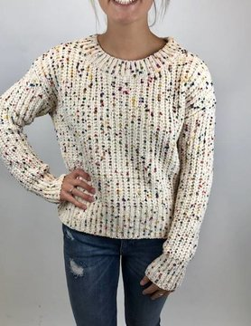 Hem & Thread Hem and Thread Cream Sweater
