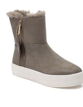 j/slides J Slides Henley Nubuck Sneaker Taupe