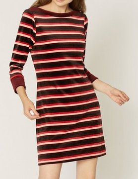 Sanctuary Sanctuary Katia Stripe Dress Cherry Soda