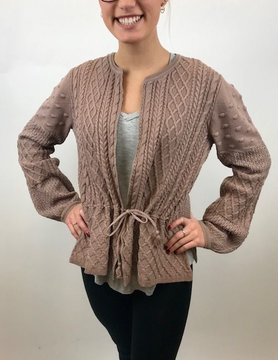 Lucky BRAND Lucky Sweater Top Pink
