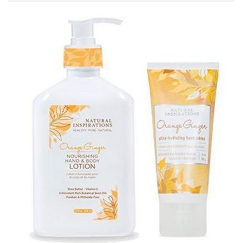 Natural Inspirations Natural Inspirations Orange Ginger Lotion/Hand Set