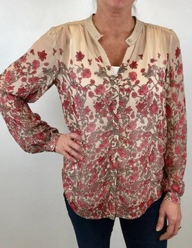 Lucky BRAND Lucky Faded Floral Button Down Multi