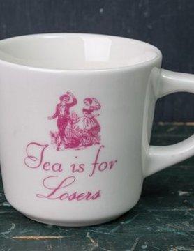 FISHS EDDY Fishs Eddy Tea Is For Loseres Mug 12oz.