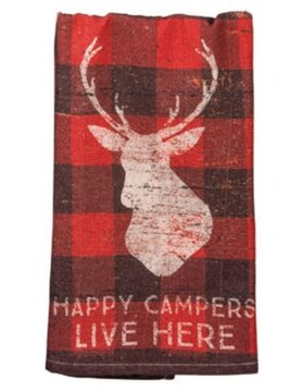 PRIMITIVES BY KATHY Primitives by Kathy Dish Towel- Campers 31013
