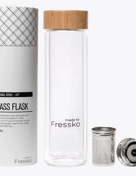 Fressko Fressko Lift Glass Flask 500ML FSKLIFT500