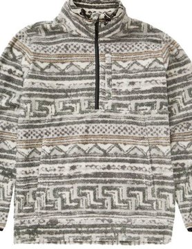 Billabong Billabong Boundary Mock Half Zip Stone