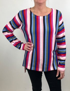 Nally & Millie Nally & Millie Striped Top L/S