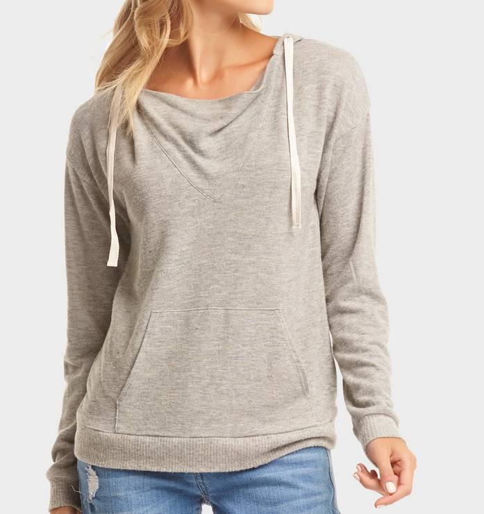 TART COLLECTIONS Tart Grayson Hoodie H Grey T80923