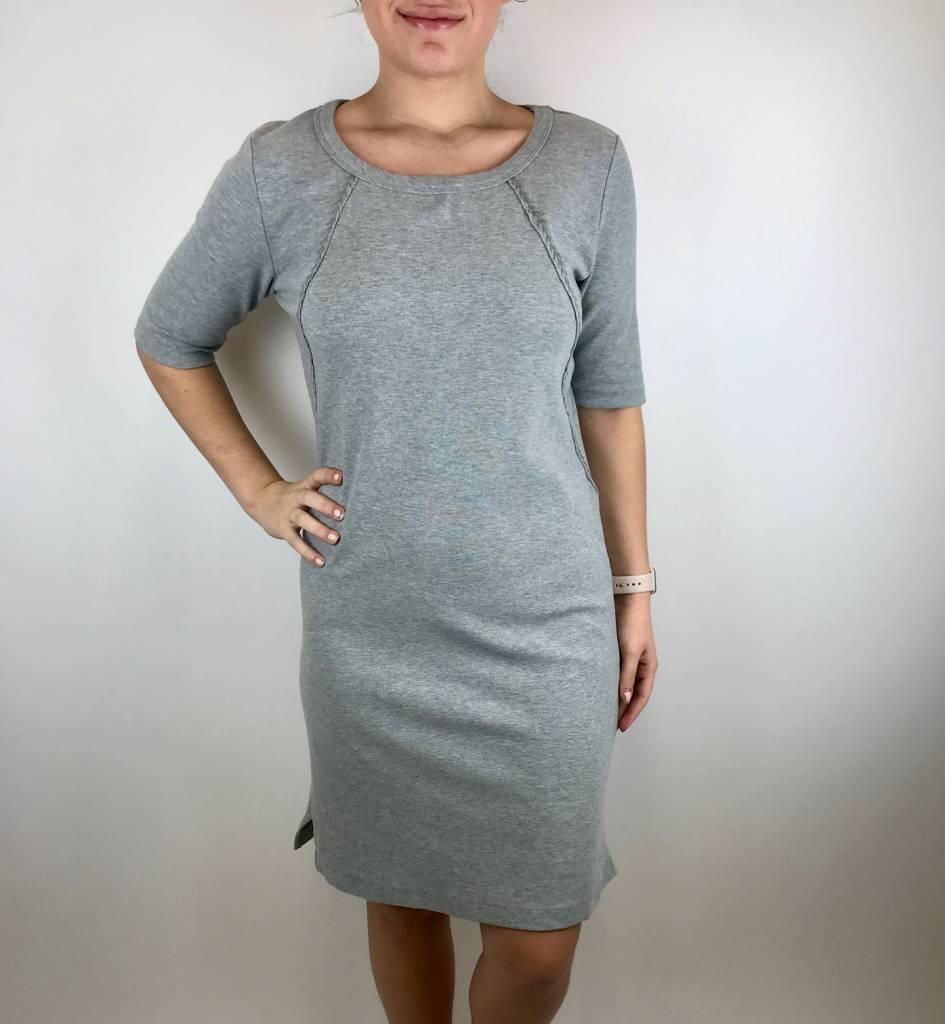Mod-o-doc Mododoc T Shirt Dress Sm Hthr 478-81827