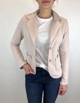 suzy d Suzy D Jersey Blazer Pale Pink