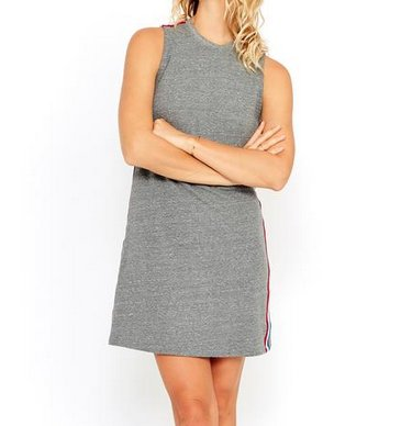 Sol Angeles Sol Angeles Sol Flag Stripe Dress HTHR SW19-2700