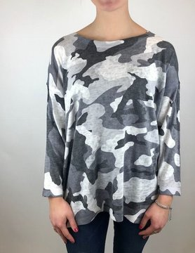 Nally & Millie Nally & Millie Camo Top