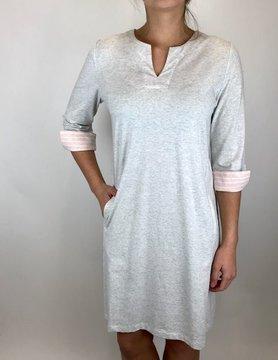 Ost Ost Lori Knit Dress Silver
