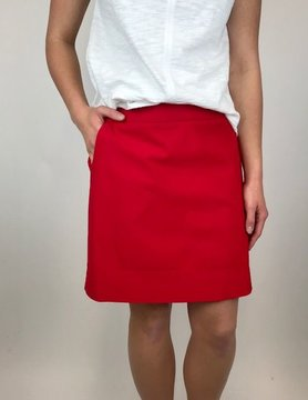 UP UP Techno Skort Red